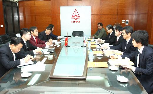 Làm việc với Qũy hỗ trợ phát triển CNXD Nhật Bản (FCIP)
