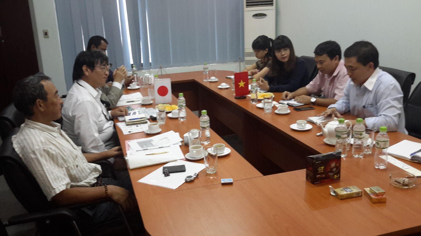 Đoàn đối tác Nhật Bản thăm và làm việc tại Tổng Công ty LICOGI - CTCP