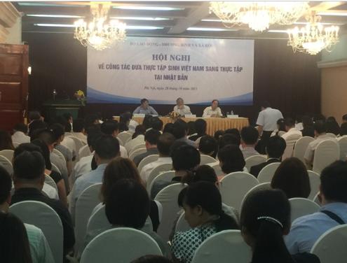 Hội nghị về công tác đưa thực tập sinh Việt Nam sang Nhật Bản