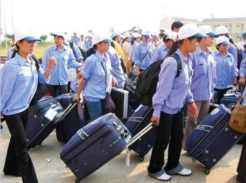 8.857 lao động Việt Nam đi làm việc ở nước ngoài trong tháng 10 năm 2015