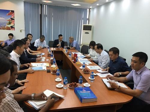 Chuyến thăm và làm việc của đoàn công tác Bộ MLIT tại Việt Nam