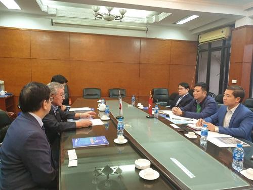 Chuyến thăm và làm việc của Công ty Tư vấn Thiết kế khoan công trình tại Việt Nam (JRE)